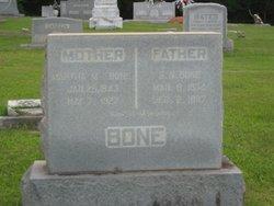 Martha M. <i>Vernon</i> Bone