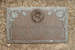 Elsie Mae <i>Norris</i> Burnham