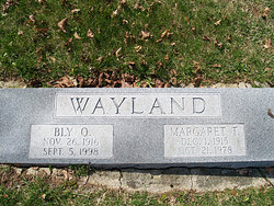 Bly O. Wayland
