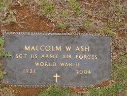 Malcolm William Ash