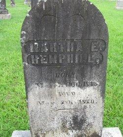 Martha E. Hemphill