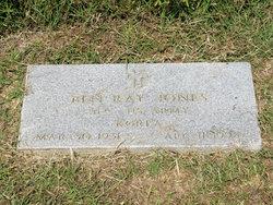 Sgt Ben Ray Jones