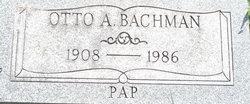 Otto A Pap Bachman