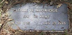 Louie Houston Aldridge