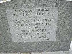 Margaret S. <i>Zakrzewski</i> Ososki