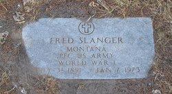 Frederick Joseph Fred Slanger
