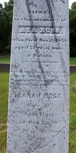 Sarah <i>Munyan</i> Ross