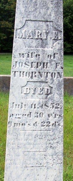 Mary E. <i>Ross</i> Thornton