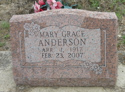 Mary Grace Anderson