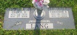 Christine R. Lang