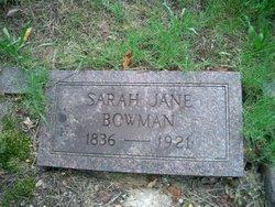 Sarah Jane <i>McNew</i> Bowman