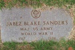 Jabez Blake Sanders