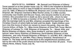 Samuel Levi Shipman