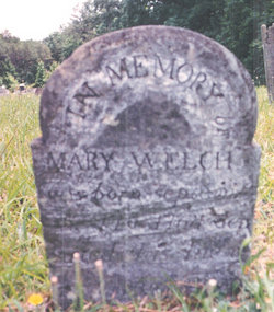Mary Welch