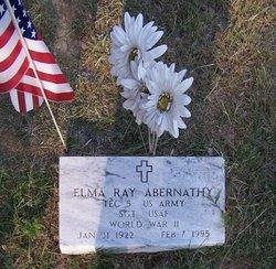 Sgt Elma Ray Abernathy