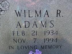 Wilma Ruth Adams