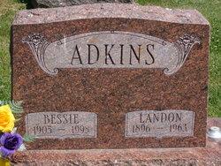 Bessie <i>Lewis</i> Adkins
