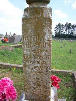 Rutha Evaline Ruthie <i>Coleman</i> Wharton