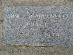 Annie Scarborough Hatch