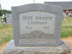 Tessie Estelle <i>Robinette</i> Chapman