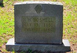 Robert W. Boswell