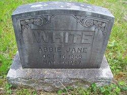 Abigail Jane Abbie <i>Powell</i> White