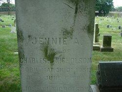 Jennie A <i>Smith</i> Nicholson
