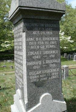 Ambrose E Brockner