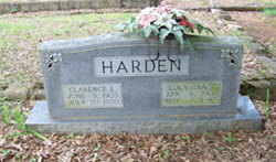 Clarence Luther Clayton Harden
