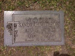Sandra Leigh <i>Hall</i> Withrow