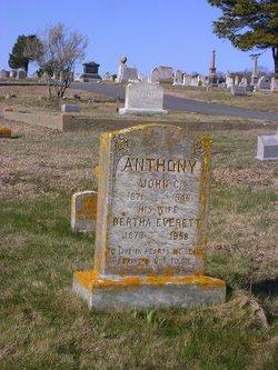 Bertha <i>Everett</i> Anthony