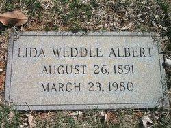 Lida <i>Weddle</i> Albert