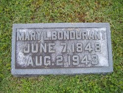 Mary Louisa Mollie <i>Tansil</i> Bondurant