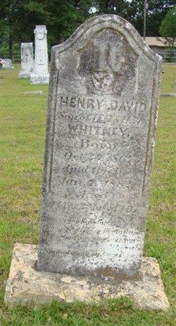 Henry David Whitney