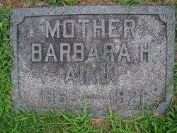 Barbara Hartzler <i>Stoltzfus</i> Aikin