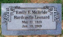 Emily F. <i>McBride</i> Leonard