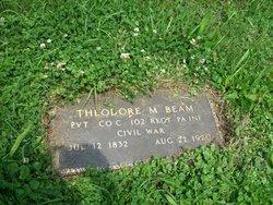 Pvt Theodore M Beam