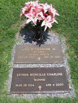 Esther Boncille Bonnie <i>Dennard</i> Chapline