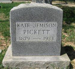Katherine Eliska Kate <i>Jemison</i> Pickett