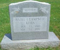 Hazel Irene <i>McBee</i> Campbell Kuhn