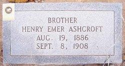 Henry Emer Ashcroft
