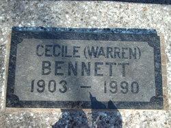Cecile Thelma <i>Pounder</i> Bennett