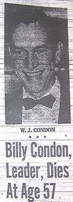 William J. Billy Condon
