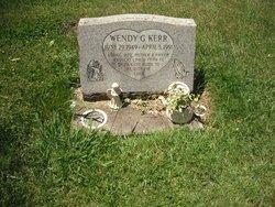 Wendy G <i>Jackson</i> Kerr