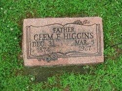 Clem F Higgins