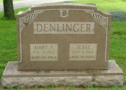 Mary E. <i>Ozias</i> Denlinger