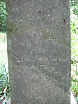 Nancy Anna <i>Shafer</i> Foust