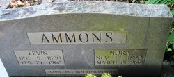 William Ervin Ammons