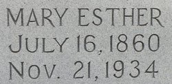 Mary Esther Mat <i>Foster</i> Brownlow