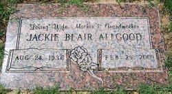 Jackie Artell <i>Blair</i> Allgood